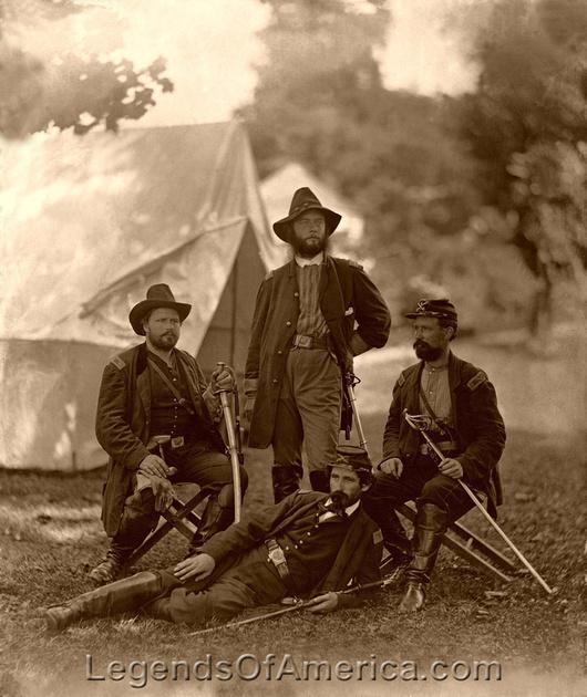 Legends Of America Photo Prints Civil War People