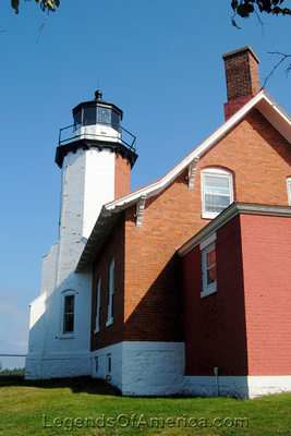 Eagle Harbor, MI - Lighthouse