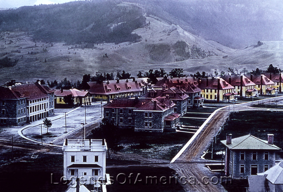 Fort Yellowstone, WY - Vintage