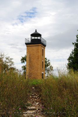 Stonington, MI - Peninsula Point Lighthouse - 2