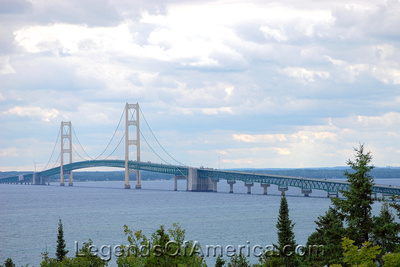 St. Ignace, MI - Mackinac Bridge