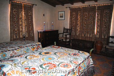 Scotty's Castle, CA - Guestroom - 2
