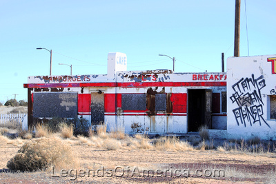 Twin Arrows Trading Post, AZ - Diner