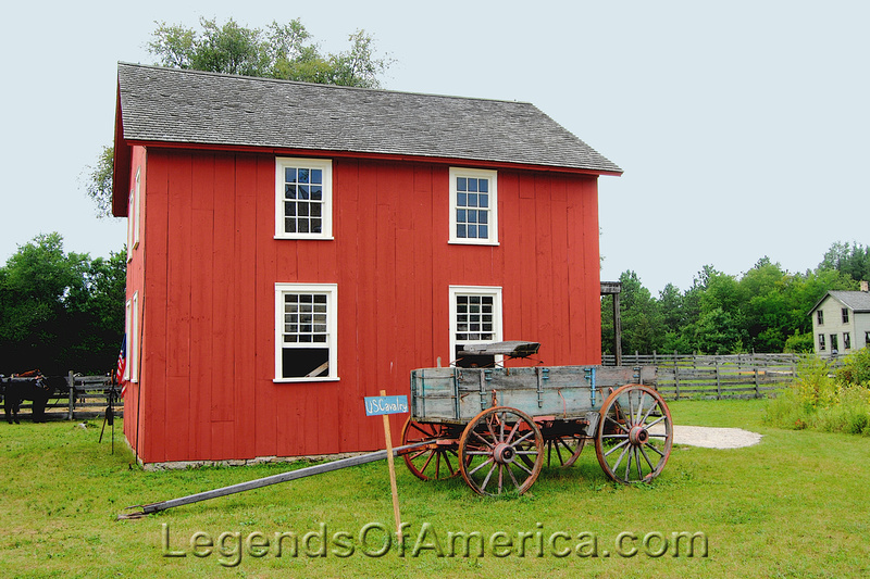 Old World Wisconsin -Cavalry Wagon Barn