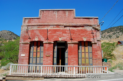 Gold Hill, NV - Bank building