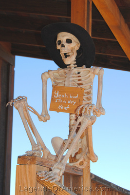 Goldfield, AZ - Skeleton