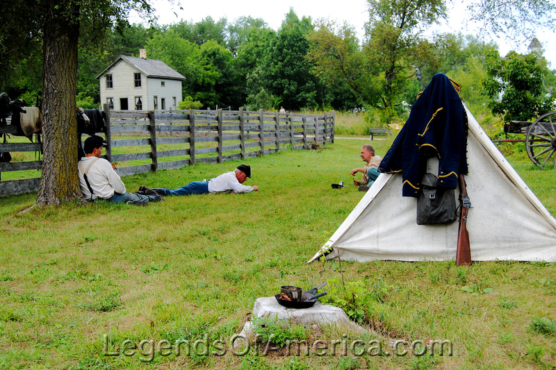 Old World Wisconsin -Life in a Union Camp-5