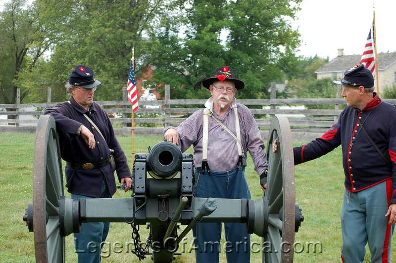 Old World Wisconsin - Civil War Cannon Operators