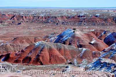 Painted Desert, AZ - White Wash