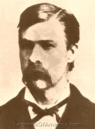Morgan Earp, lawman and gunfighter