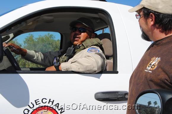 Fort Yuma, CA -Dave cop
