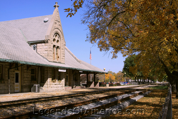 Dwight, IL - Railroad Depot