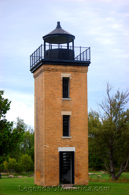 Stonington, MI - Peninsula Point Lighthouse