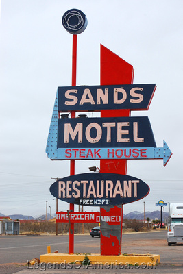 Van Horn, TX - Sands Motel Sign
