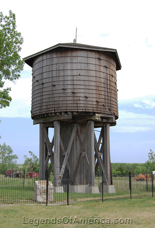 Beaumont, KS - Frisco Water Tower