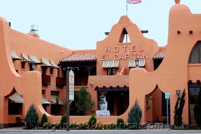 Van Horn, TX - Hotel El Capitan