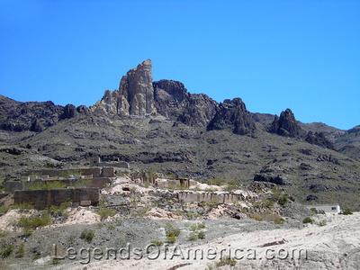 Oatman, AZ - Mining Remains