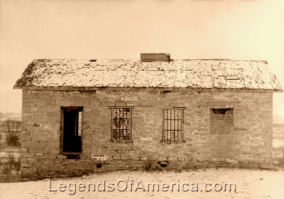 Fort Laramie, WY - Guardhouse, 1942