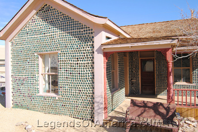 Rhyolite, NV - Bottle House