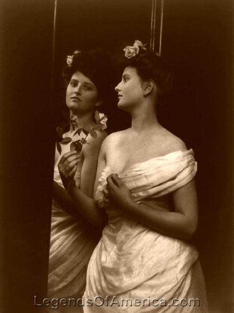 Legends Of America Photo Prints Saloon Style Women