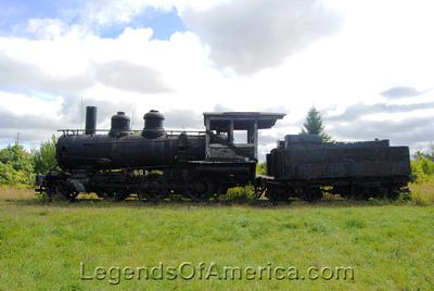 Hancock, MI - Quincy Mine Train