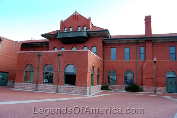 Dodge City, KS - Restored Railroad Depot