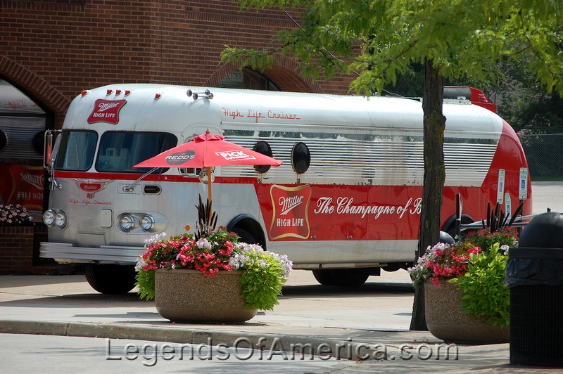 Milwaukee, WI - Miller Brewing Visitors Center-Bus