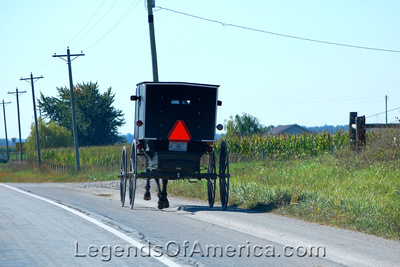 Shipshewana, IN - Amish Buggy