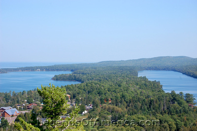 Copper Harbor, MI - Lake Superior & Lake Fanny Hooe