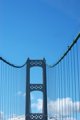 St. Ignace, MI - Mackinaw Bridge-3