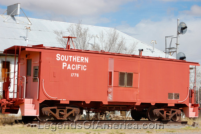 Sierra Blanca, TX - Southern Pacific Railroad Car