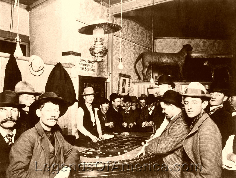 Historic gambling games old west jobs gambling industry