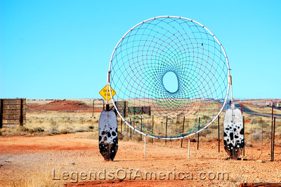 Meteor City, AZ - Trading Post Dream Catcher
