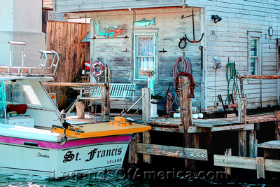 Leland, MI - Fishtown Shack - Enhanced