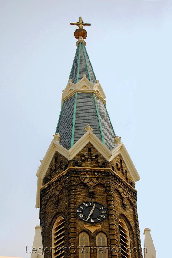 Milwaukee, WI - Trinity Evangeline Lutheran Church Steeples 3