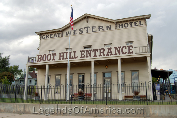 Dodge City, KS - Great Western Hotel