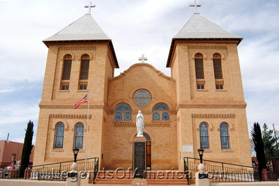 Mesilla, NM - Basilica of San Albino Church