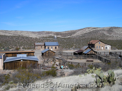 Shakespeare, NM - Town View