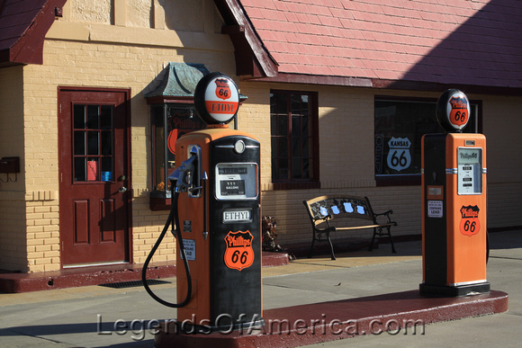 Baxter Springs, KS -  Route 66 Visitor Center