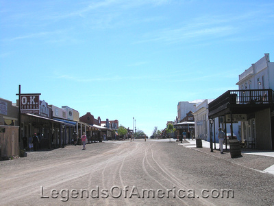 Tombstone, AZ - Allen Street Today