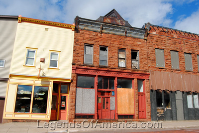 Calumet, MI - Buildings