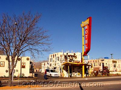 Albuquerque, NM - Aztec Motel