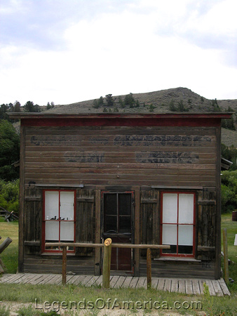 Atlantic City, WY - Huff Candy Store