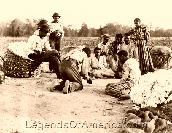 African Americans shooting dice