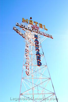 Flagstaff, AZ - Motel Downtowner