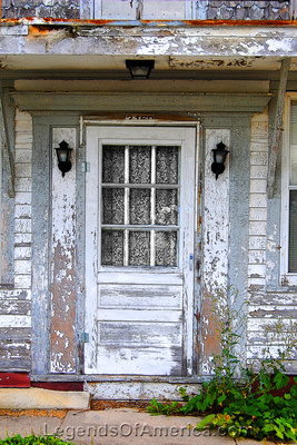 Edmund, WI - Building Door