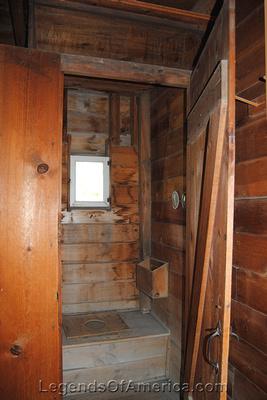 Amana, IA - Heritage Museum Wash house Outhouse