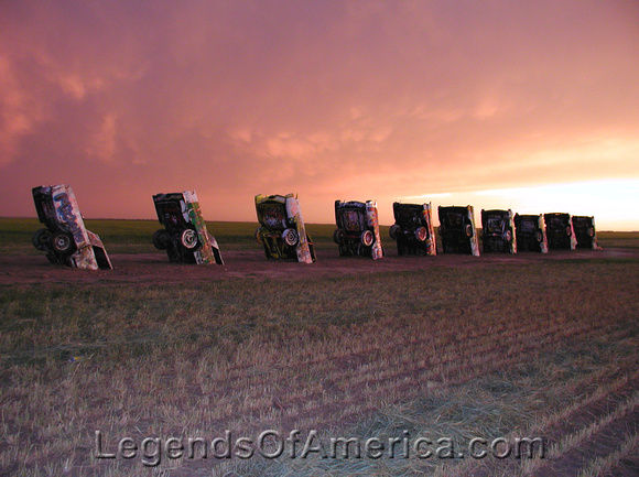 Amarillo, TX - Cadillac Ranch - 3