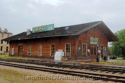 Prairie du Chien, WI - St. Feriole Island Depot Bar