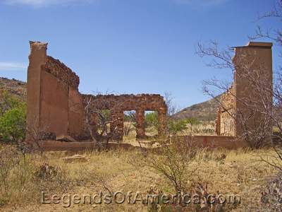 Courtland, AZ - Ruins
